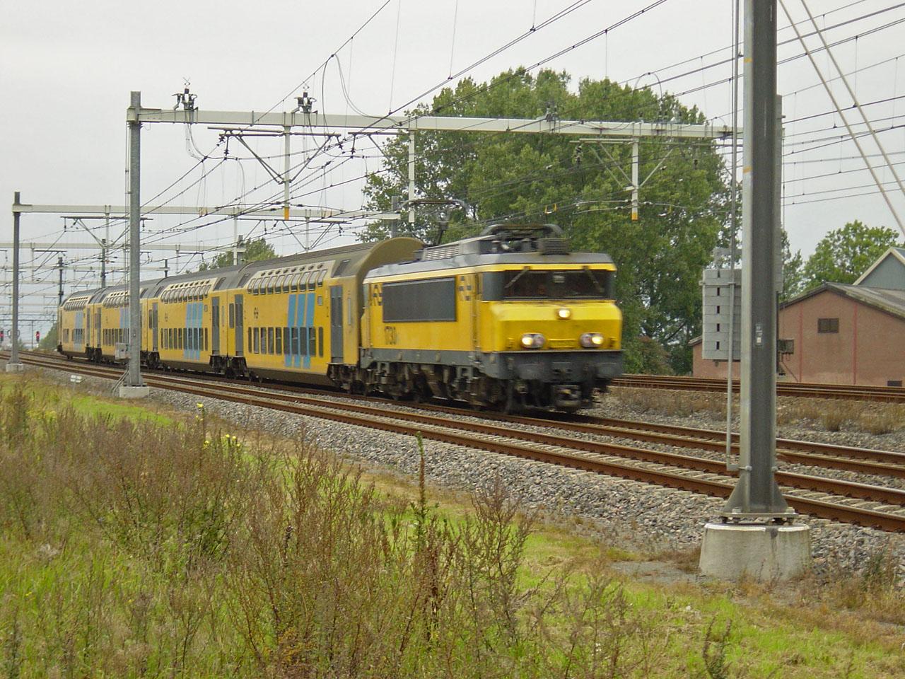 Geen treinen Zaltbommel